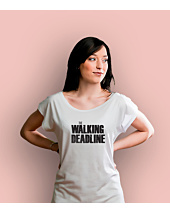 The walking deadline T-shirt damski Biały XS