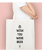 Wish you where beer Torba na zakupy Naturalna Universal