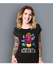 Hello from the mother side T-shirt damski Czarny XS
