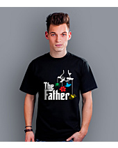 The Father T-shirt męski Czarny S
