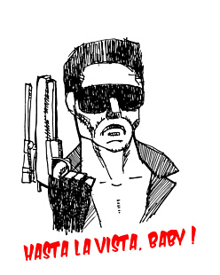 Hasta La Vista, Baby! Sketch
