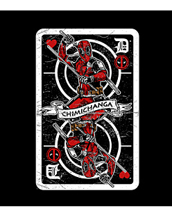 Deadpool Card - Top Damski