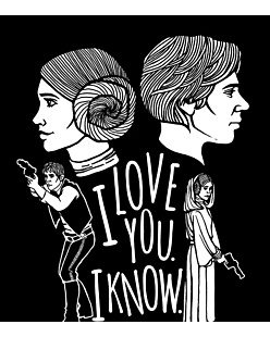 I love You. I know.