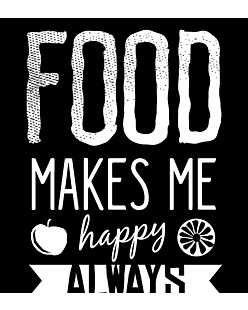Food Makes Me  Happy