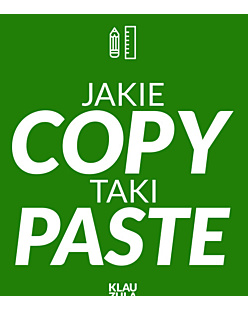 Jakie COPY taki PASTE