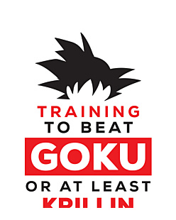 Dragon ball - Training to beat Goku
