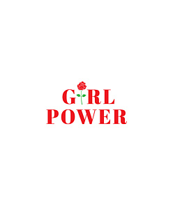 Girl Power - Koszulka Boyfriend