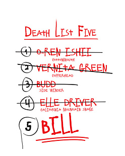 Kill Bill – Death List Five