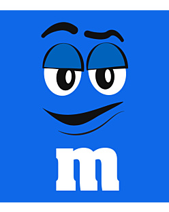 M&M Blue - Top Damski