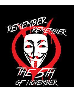 5th of november fawkes v for vendetta