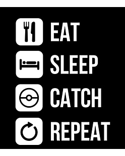 Eat Sleep Catch Repeat