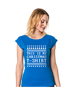 This is my christmas T-shirt - T-shirty