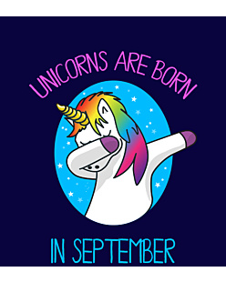Unicorns are born in September