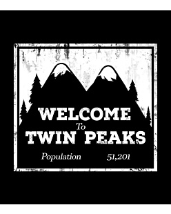 Welcome To Twin Peaks - Top Damski