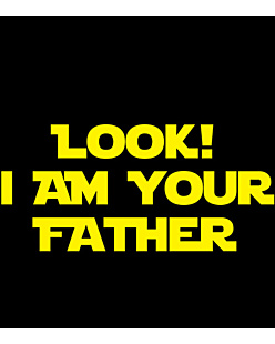 Look! I'm your father!