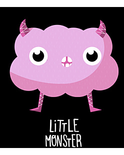 Pink Little Monster