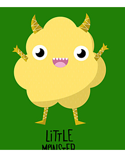 Yellow Little Monster