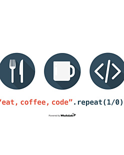 Eat Coffe Code Repeat