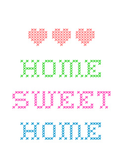 Home Sweet Home - Kolory