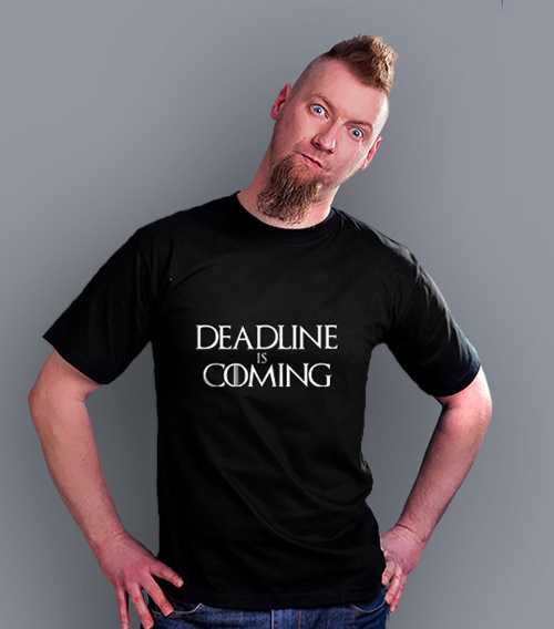 Gra o Tron - DEADLINE IS COMING