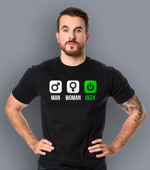 Man Woman Geek - Gender