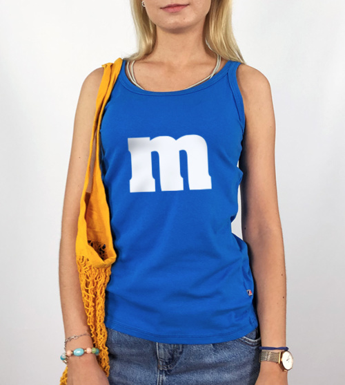 M&M M Blue - Top Damski