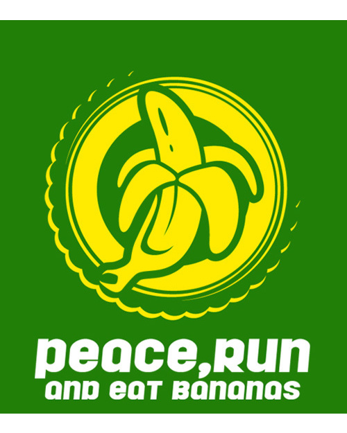 Peace run bananas