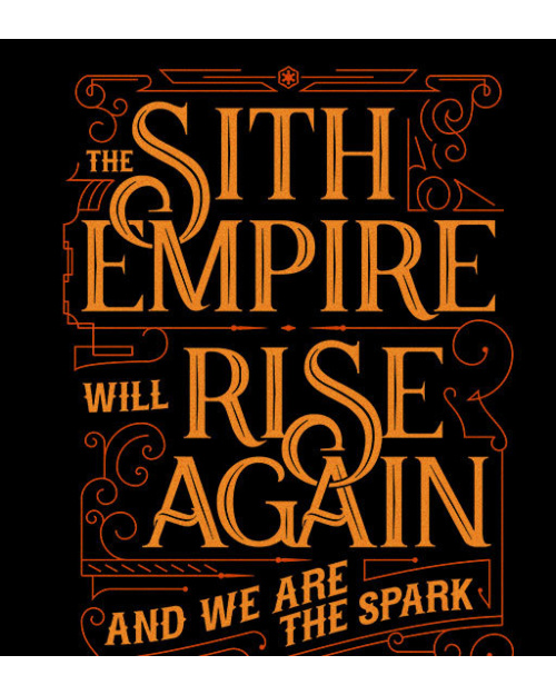 Sith Empire will rise again