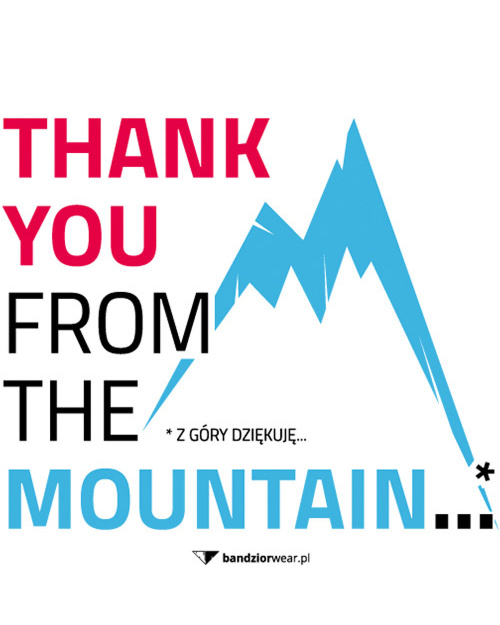 Thank you mountain