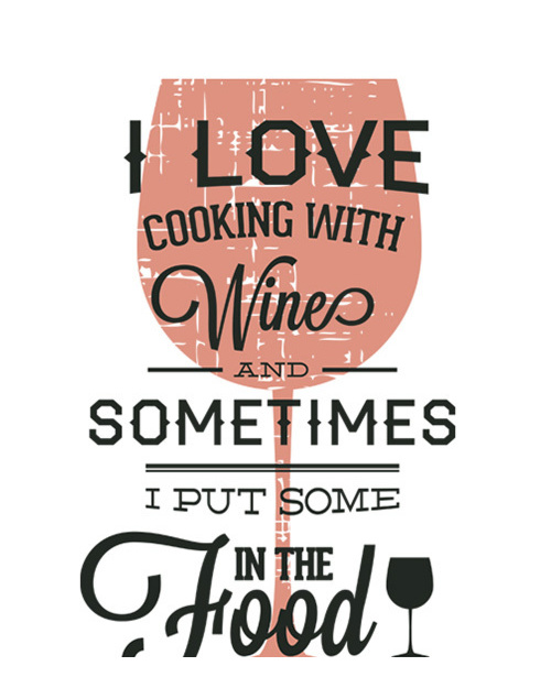 Love cooking with wine