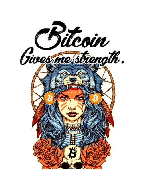 BItcoin Gives Me Strength