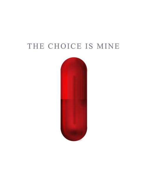 The choice is mine red