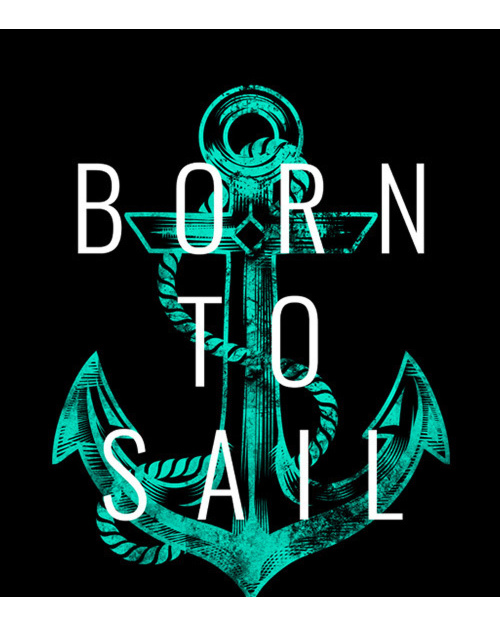 Born to Sail kotwica