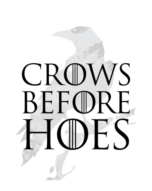 Gra o Tron - Crows Before Hoes