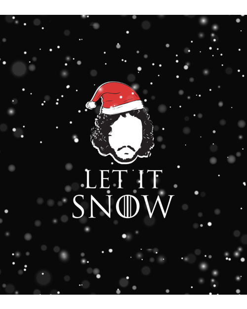Let it snow gra o tron Fullprint