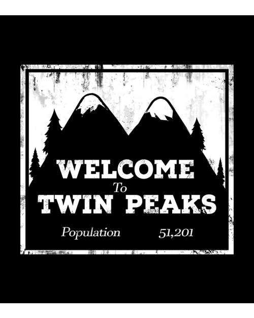 Welcome To Twin Peaks - Top Męski
