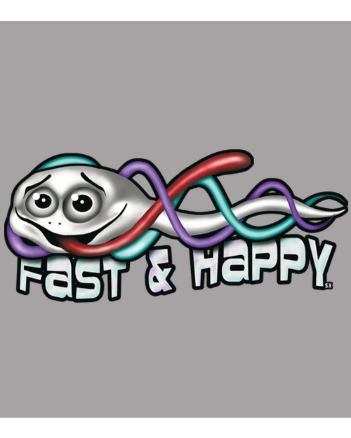 Fast and happy