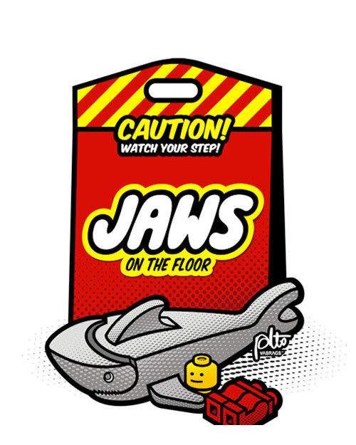 JAWS ON THE FLOOR