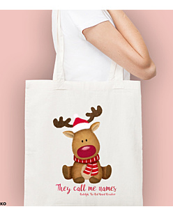 Rudolph The Red Nosed Reindeer Torba na zakupy Naturalna Universal