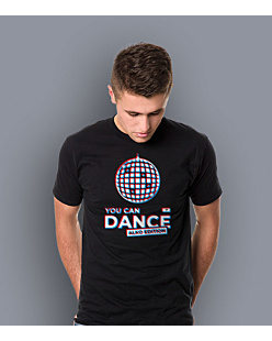 You Can Dance T-shirt męski Czarny S