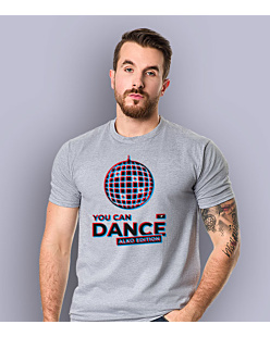 You Can Dance T-shirt męski Jasny melanż S