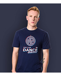 You Can Dance T-shirt męski Granatowy S