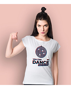 You Can Dance T-shirt damski Biały XS
