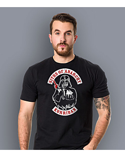 Siths of Anarchy - Vader T-shirt męski Czarny XXL