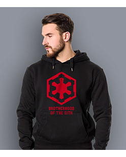 Brotherhood of the Sith Męska bluza z kapturem Czarna S