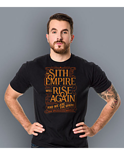 Sith Empire will rise again T-shirt męski Czarny S