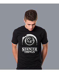 Stancer Things T-shirt męski Czarny S