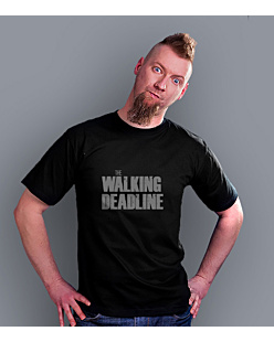 The walking deadline T-shirt męski Czarny S