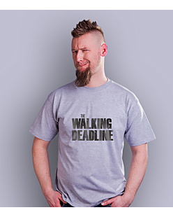The walking deadline T-shirt męski Jasny melanż S