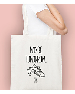 Maybe tomorrow… Torba na zakupy Naturalna Universal